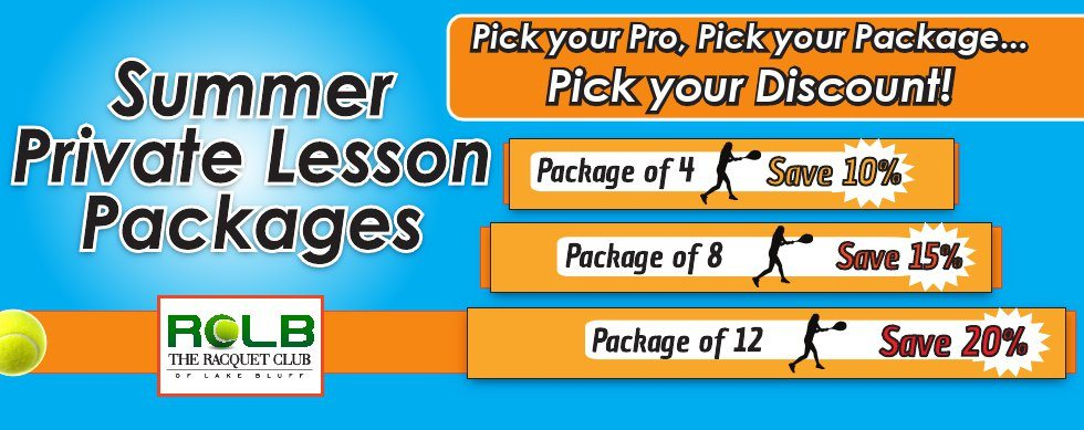 slider - private lesson packages